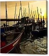 Palaffite Port Canvas Print