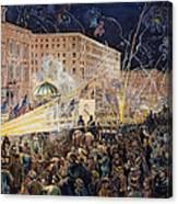 Presidential Campaign: 1876 Canvas Print