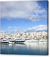 Puerto Banus In Spain Canvas Print
