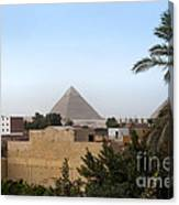 Pyramids Of Giza Canvas Print