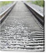 Railroad Tracks Canvas Print