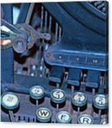 Remington 11 Detail Canvas Print