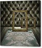 Retro Room Interior Canvas Print