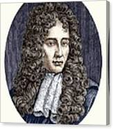 Robert Boyle, Irish Chemist Canvas Print