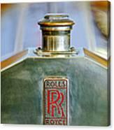 Rolls-royce Hood Ornament Canvas Print