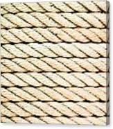 Rope Canvas Print