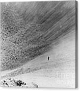 Sedan Crater, Nevada Test Site Canvas Print