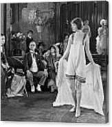 Silent Film Still: Fashion Canvas Print