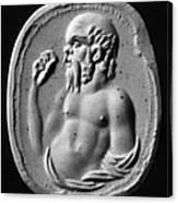 Socrates (470?-399 B.c.) Canvas Print
