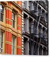 Soho New York Canvas Print