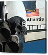 Space Shuttle Atlantis Canvas Print