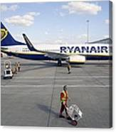 Stansted Airport Canvas Print