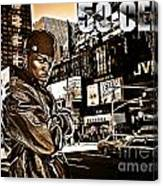Street Phenomenon 50 Cent Canvas Print