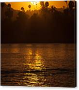 sunset santa Barbara Canvas Print