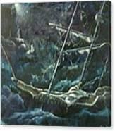Surviving The Storm Canvas Print