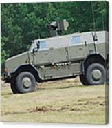 The Dingo 2 In Use By The Belgian Army Canvas Print