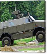 The Dingo 2 Mppv Of The Belgian Army Canvas Print