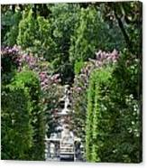 The Elizabethan Gardens Canvas Print