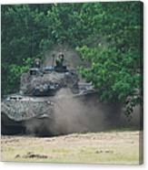 The Leopard 1a5 Main Battle Tank Canvas Print