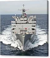 The Military Sealift Command Fast Canvas Print