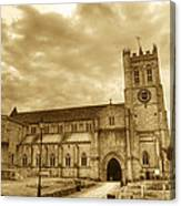 The Priory Canvas Print