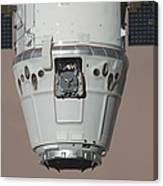 The Spacex Dragon Commercial Cargo Canvas Print