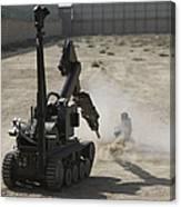 The Teodor Heavy-duty Bomb Disposal Canvas Print