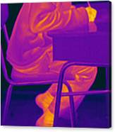 Thermography Canvas Print