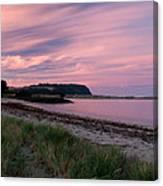 Twilight After A Sunset At A Beach Canvas Print