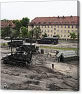 U.s. Soldiers Teach The Polish Military Canvas Print