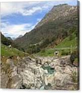 Valle Verzasca - Ticino Canvas Print
