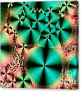 Vitamin B1 Crystal Canvas Print