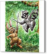 20 - Jennings State Forest - Sword Play Canvas Print