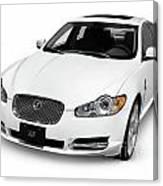 2009 Jaguar Xf Luxury Car Canvas Print