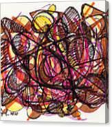 2010 Abstract Drawing 24 Canvas Print