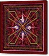 20110730-squares-of-strokes-v6a Canvas Print