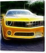 2012 Chevrolet Camaro Rs Canvas Print