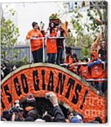 2012 San Francisco Giants World Series Champions Parade - Dpp0004 Canvas Print