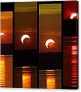 2012 Solar Eclipse Canvas Print