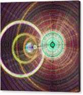 Circle Art Canvas Print