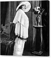 Silent Film Still: Woman Canvas Print