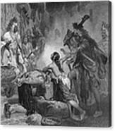 Pocahontas (1595?-1617) Canvas Print
