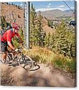 Mountain Bike Canvas Print