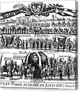 Louis Xiv (1638-1715) Canvas Print