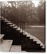28 Up And Down Steps Canvas Print