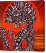 288 Rising Sun Krytose Canvas Print