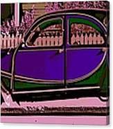 2CV Canvas Print