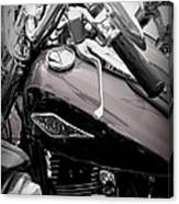 3 - Harley Davidson Series Canvas Print