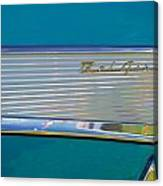 1957 Chevy Convertable Canvas Print