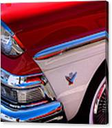 1958 Ford Fairlane Skyliner Convertible Canvas Print